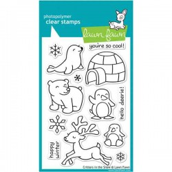 Lawn Fawn Critters in the Snow Stamp Set