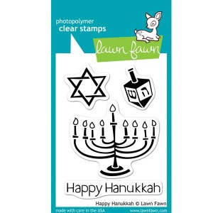 Lawn Fawn Happy Hanukkah Stamp Set