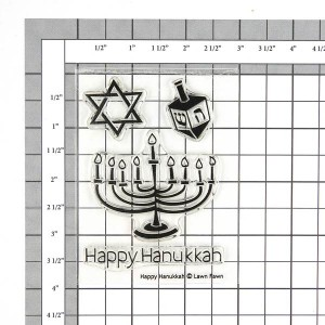 Lawn Fawn Happy Hanukkah Stamp Set class=