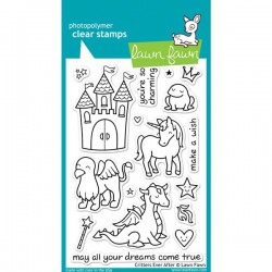 Lawn FawnCritter Ever After Stamp Set