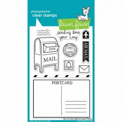 Lawn Fawn You've Got Mail Stamp Set