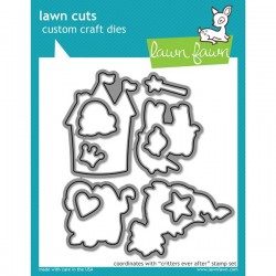 Lawn Fawn Critters Ever After Lawn Cuts