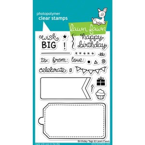 Lawn Fawn Birthday Tags