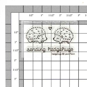 Lawn Fawn Hedgehugs Stamp Set class=