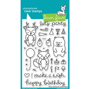 Lawn Fawn Party Animal Stamp Set