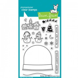 Lawn Fawn Ready, Set, Snow Stamp Set