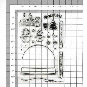 Lawn Fawn Ready, Set, Snow Stamp Set class=
