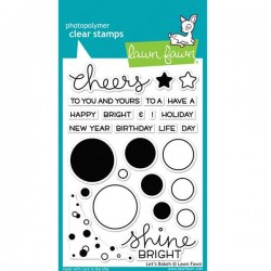 Lawn Fawn Let's Bokeh Stamp Set