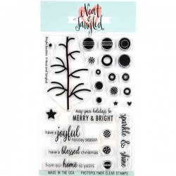Neat & Tangled Bright Baubles Stamp Set