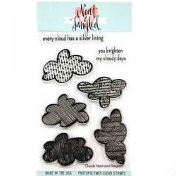 Neat & Tangled Clouds Stamp Set
