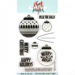 Neat & Tangled Happy Ornaments Stamp Set