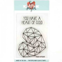 Neat & Tangled Heart of Gold Stamp