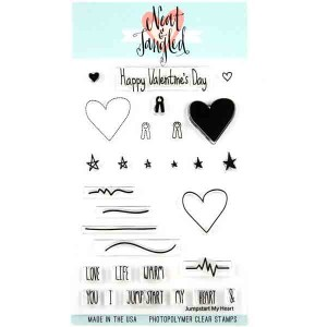 Jump Start My Heart Stamp Set