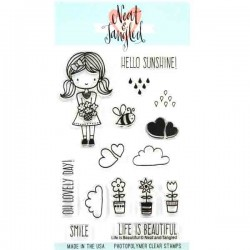 Neat & Tangled Life is Beautiful Stamp Set
