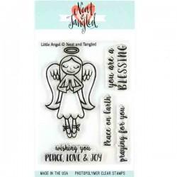 Neat & Tangled Little Angel Stamp Set