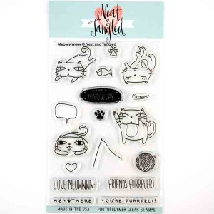Neat & Tangled Meowwwww Stamp Set