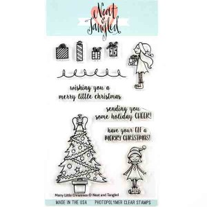 Neat & Tangled Merry Little Christmas Stamp Set