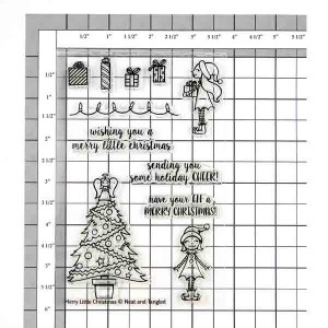 Neat & Tangled Merry Little Christmas Stamp Set class=