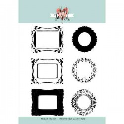 Neat & Tangled Ornate Frames Stamp Set