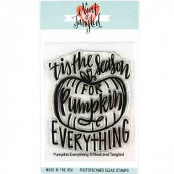 Neat & Tangled Pumpkin Everything Stamp