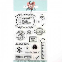 Neat & Tangled Santa's Notes Stamp Set
