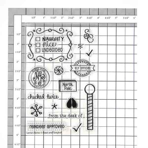 Neat & Tangled Santa's Notes Stamp Set class=
