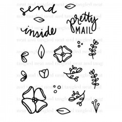 Neat & Tangled Send Pretty Mail Stamp Set