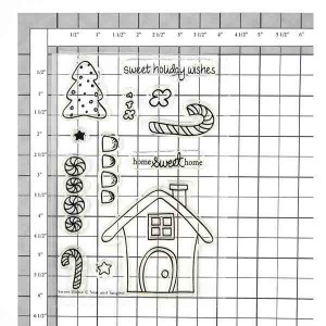 Neat & Tangled Sweet Home Stamp Set class=