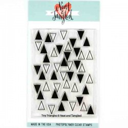 Neat & Tangled Tiny Triangles Stamp
