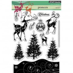 Penny Black Prancers Stamp Set