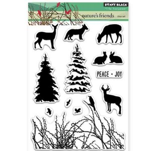 Penny Black Nature's Friends Stamp Set