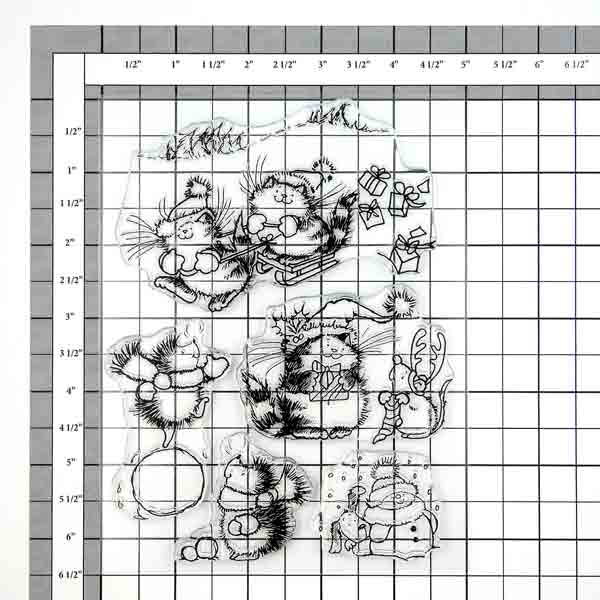 Penny Black 30-265 Decorative Rubber Stamps Winter Play