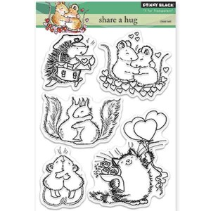 Penny Black Share A Hug Stamp Set