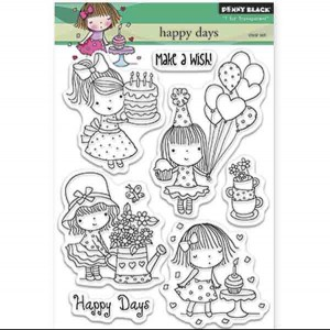 Penny Black Happy Days Stamp Set