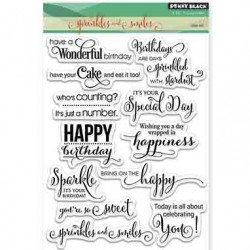 Penny Black Sprinkles and Smiles Stamp Set