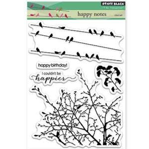 Penny Black Happy Notes Stamp Set
