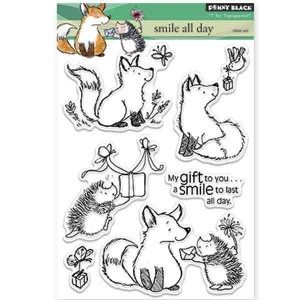 Penny Black Smile All Day Stamp Set