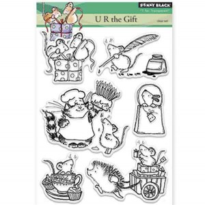 Penny Black U R the Gift Stamp Set