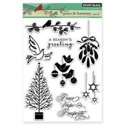 Penny Black Peace and Harmony Stamp Set