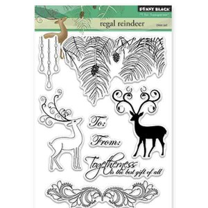 Penny Black Regal Reindeers Stamp Set