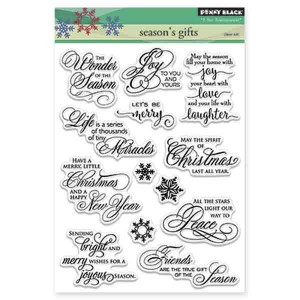 Penny Black Season's Gifts Stamp Set