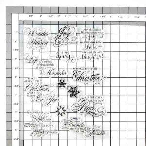 Penny Black Season's Gifts Stamp Set class=