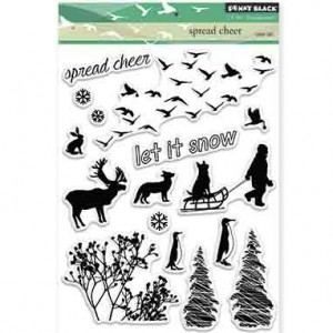 Penny Black Spread Cheer Stamp Set