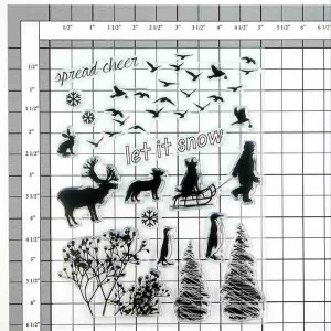 Penny Black Spread Cheer Stamp Set class=