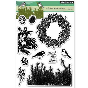 Penny Black Winter Moments Stamp Set