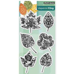 Penny Black Filigree Foliage Stamp Set