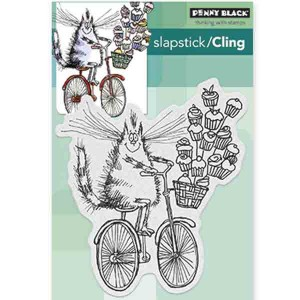 Penny Black Sweet Delivery Slapstick Cling