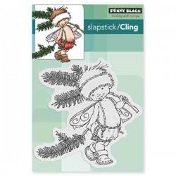Penny Black Pine Sprite Cling Stamp