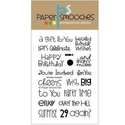 Paper Smooches Birthday Sampler Stamp Set