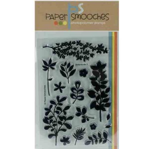 Paper Smooches Botanicals 2 Stamp Set